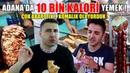 ADANA da 2 SAATTE 10 BİN KALORİ YEMEK Adana Kebap Döner Sucuk Ekmek Kokoreç Bici Bici
