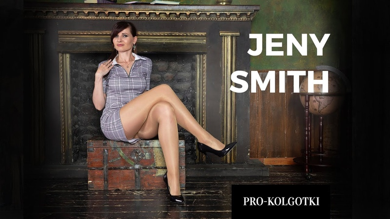 Jeny Smith in her favorite pantyhose 2019 07 1