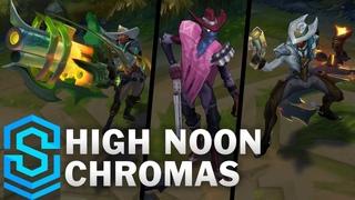 High Noon Chromas | Patch  Chromas, Lucian, Senna, Jhin, Irelia and Fiddlesticks