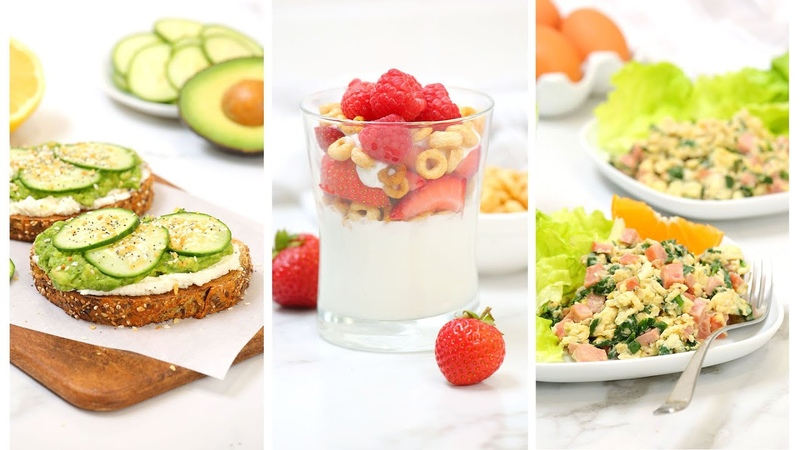 10 Minute Breakfast Recipes Healthy Quick Easy