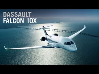 A First Look at Dassault's Falcon 10X Ultra-Long-Range Business Jet – AIN