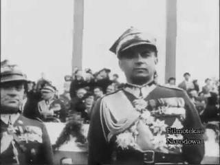 Дефилада парад Войска Польского 3 мая 1939 года Варшава Катовице