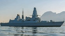 17 Russian fighter jets swarm around HMS Duncan early '18