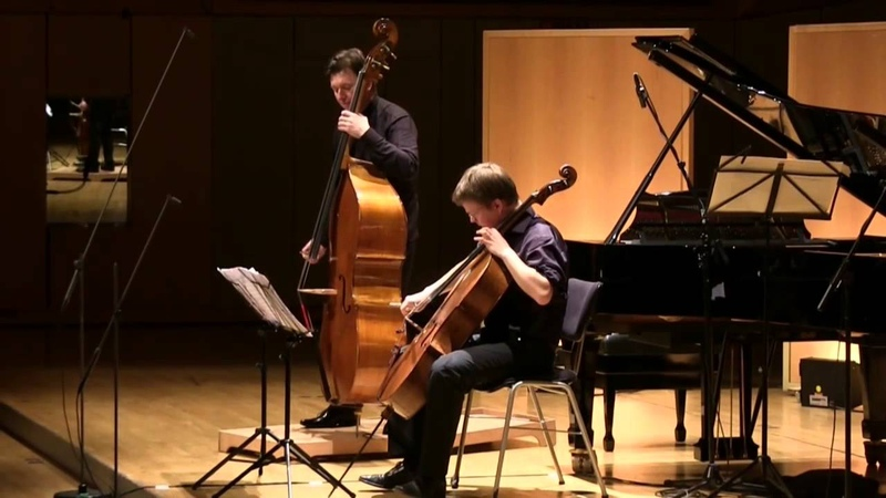 Boguslaw Furtok and Ulrich Horn play Rossini's Duetto for cello and double bass