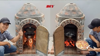 How to build a multi-purpose oven at home, Technical to build a pizza oven at home