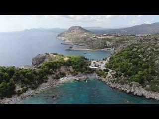 Anthony Quinn Bay Rhodes Greece  Drone video ( Μιχάλης Χατζηγιάννης - Κάτι δυνατό )
