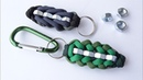 Make a Simple Paracord Hex Nut Keychain Sanctified Knot CBYS Paracord Tutorial