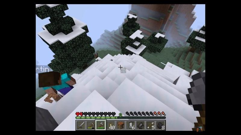 28 Жора Бежит Minecraft 1 16 3 Хардкорный Ко оп