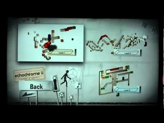 echochrome ii gameplay footage with PlayStation Move