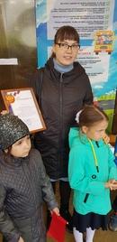 #МЦАУРУМ #СевероЕнисейский  Сегодня завершили реализацию проекта Мы за безопасность на дороге, напис