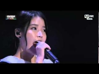 [Live HD] 141203 IU – Friday(feat. Song Mino of WINNER) @ 2014 MAMA in Hong Kong