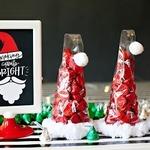 «Шоколадный колпак Санты» — рождественская упаковка конфет