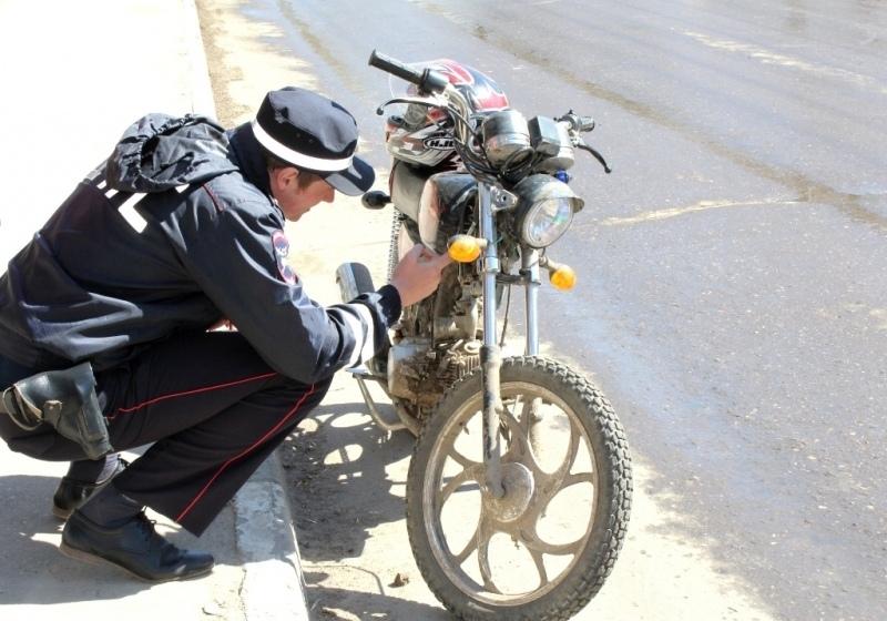 На дорогах Марий Эл проверят мототранспорт