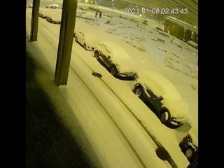 Ночная операция по уничтожения наглых снеговиков в Минске