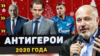 Главные антигерои российского футбола по итогам 2020 года | Премьер-лига / РПЛ