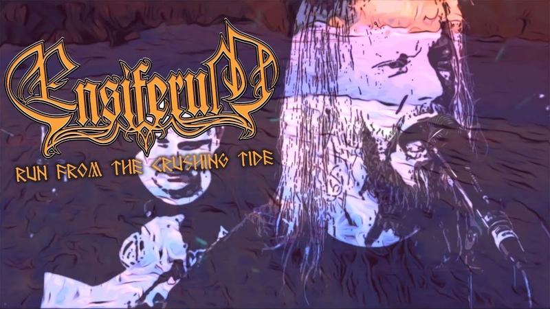 Ensiferum Run From the Crushing Tide OFFICIAL LYRIC VIDEO