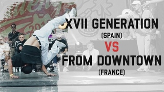 XVII Generation (Spain) vs From Downtown (France) | Semi Final | Warsaw Challenge 2018