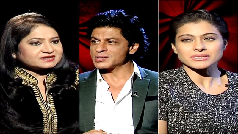 Shah Rukh Khan and Kajol Interview Dilwale Movie Interview Aamne Samne with अनुराधा प्रसाद