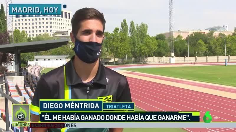 В Севилье испанский триатлонист Диего Ментрида уступил медаль своему сопернику британцу