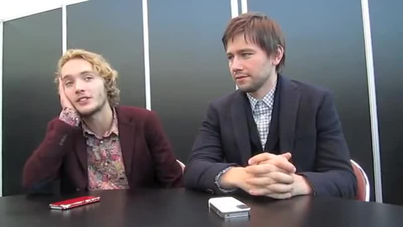 Reigns Toby Regbo Torrance Coombs at NYCC 2013