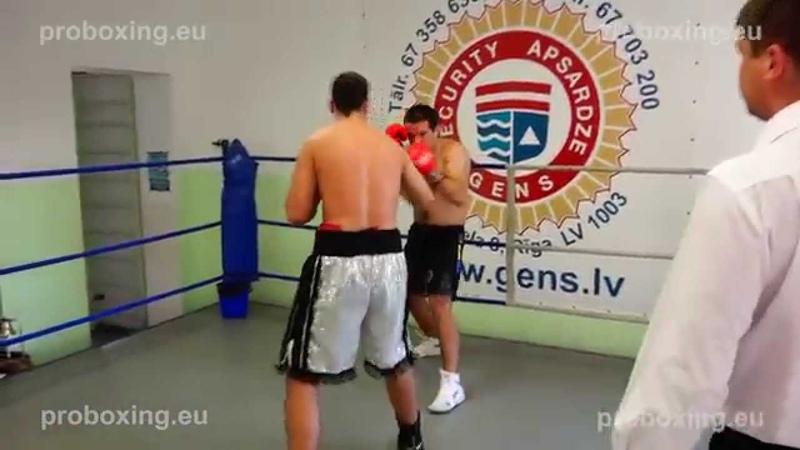 Rihards Bigis (Latvia) VS Janis Osipenko (Latvia) 31.10.2014 proboxing.eu
