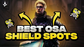 Top 5 OSA Shield Spots In Operation Crystal Guard - Rainbow Six Siege