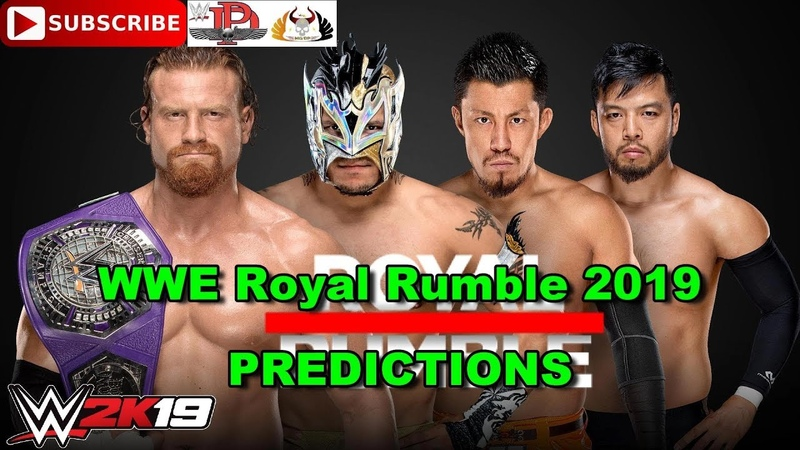 Royal Rumble 2019 Cruiserweight Championship Buddy Murphy vs Akira Tozawa vs Kalisto vs Hideo Itami