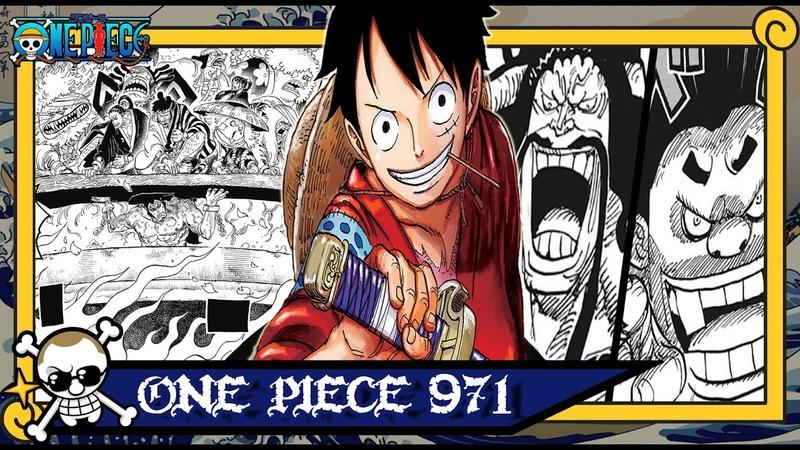 One Piece 971 Botando Oden pra Ferver