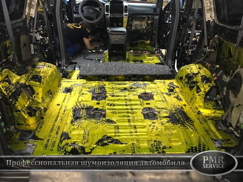 Комплексная шумоизоляция Toyota Land Cruiser 120, изображение №13