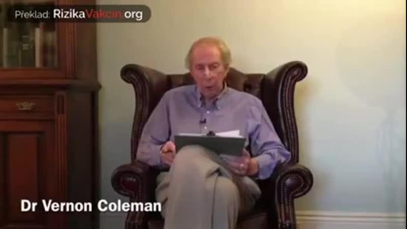 Strážca poznania Dr Vernon Coleman Zásadné informácie o vakcíne proti COVID 19
