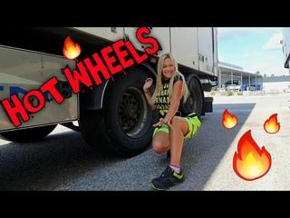 HOT BRAKE PADS - locked wheels, Angelica Larsson