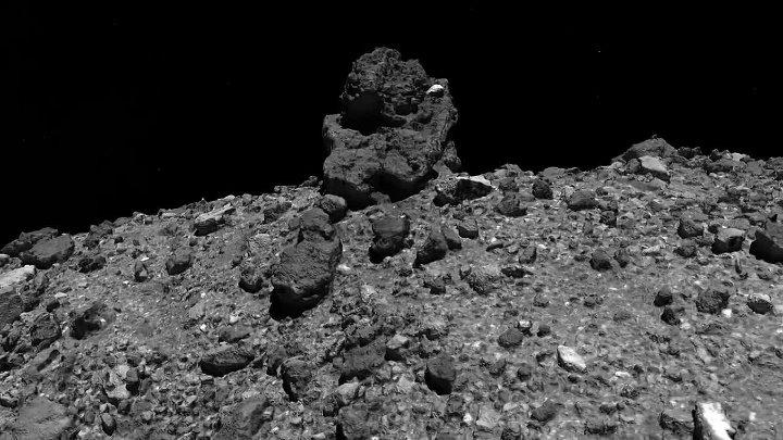 OSIRIS REx теряет образцы с астероида Бенну