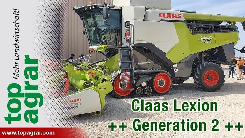 Agritechnica 2019 Claas Lexion 5000, 6000, 7000, 8000 Convio Flex Avero 160 und 240
