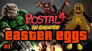 POSTAL 4 Easter Eggs And Secrets (Doom, Civvie11, Half Life, The Shining and more) #1