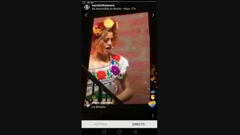 Dialogo lutteo antes de Allá voy 12 Yo no se como este hombre no coge tortícolis Show de ayer Buenos Aires 21 junio de 2018