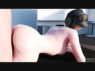 Rule34 Rainbow Six Sdiege Ela 3D porn