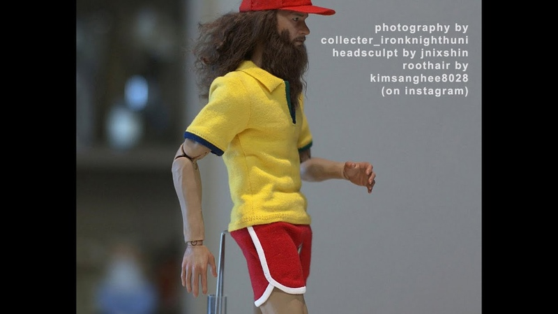 1/6th scale custom Forrest Gump running inspired clothes made by Hegemony77 - with WIP photos