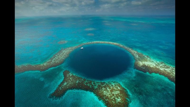 Белизский Барьерный риф и Большая голубая дыра Белиз Belize Barrier Reef and Great Blue Hole