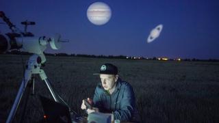 Смотрим на Юпитер и Сатурн в телескоп. Юпитер и Сатурн в 2021 году
