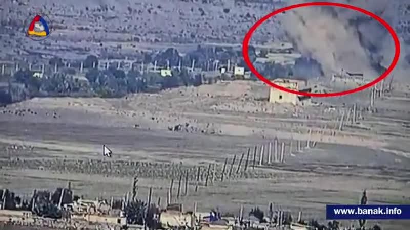 🇦🇲❌🇦🇿🔥Артиллеристы Армии обороны ликвидировали азербайджанский РСЗО Смерч 🎥