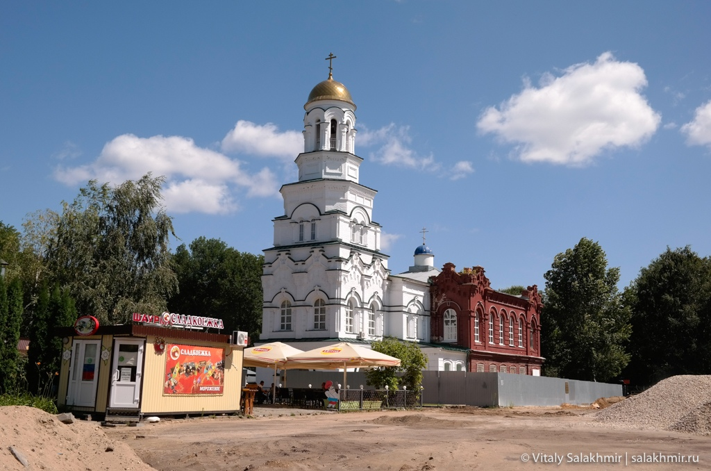 Церковь на площади Кирова, реставрация площади в Саратове 2020