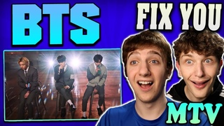 "BTS on MTV Unplugged! ""Fix You"" Live Performance REACTION!! (Coldplay Cover)"