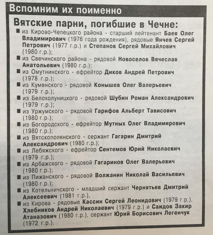 О чем писали кировские газеты 20 лет назад? Январь 2000 года., изображение №6