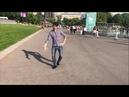 Парень Танцует Классно В Парк Горького Супер Чеченская Лезгинка 2021 Lezginka Сhechen Dance ALISHKA