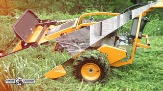 Косилка для высокой травы и кустов и кошения на склонах AS-Motor 901 SM роторная (барабанная)