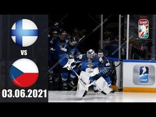 ФИНЛЯНДИЯ - ЧЕХИЯ ()/ ЧЕМПИОНАТ МИРА 2021/ 1/4 ФИНАЛА/ NHL 21 ОБЗОР МАТЧА