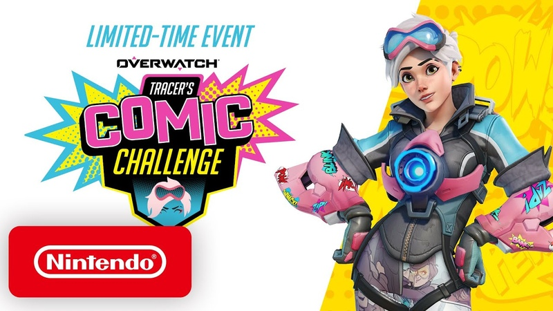 Overwatch Tracer's Comic Challenge Nintendo Switch