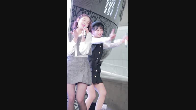 181117 버스터즈 지수 (Busters) - 내꿈꿔 (Dream On) DDP광장 직캠 fancam by LuxQ