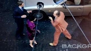 Lady Gaga, Adam Driver y Jared Leto en acción
