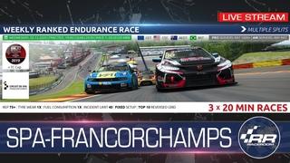 #RaceRoom  | WTCR Endurance - SPA FRANCORCHAMPS ()